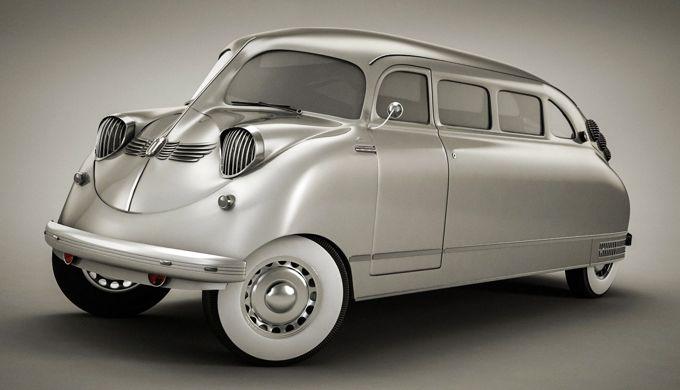 7 Desain Mobil Aneh Yang Pernah Ada di Dunia Otomotif