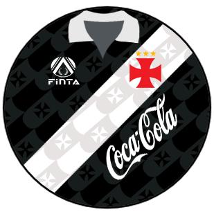 6c72779b47 Vasco 1992 camisa preta