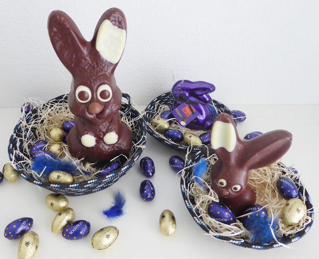mit Strich und Faden: Osternest Ropebowl |Schokolade