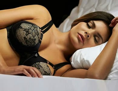 Should you wear a bra to bed