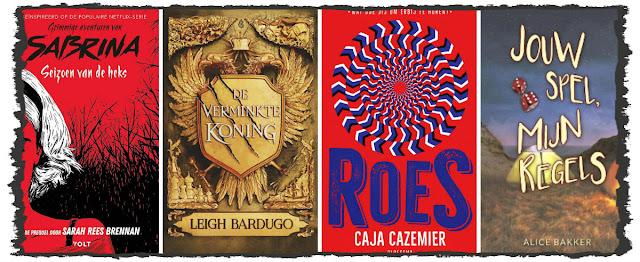 Sarah Rees Brennan, Leigh Bardugo, Caja Cazemier, Alice Bakker, Volt, Blossom Books, Ploegsma, Godijn