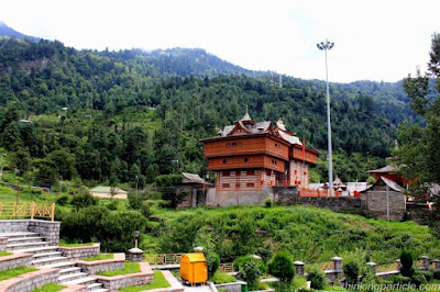 NATURAL SURROUNDINGS OF BHIMAKALI TEMPLE, Sarahan