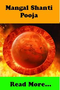 mangal shanti pooja to remove malefic impacts of mars