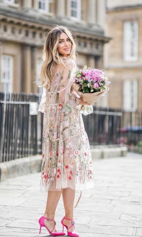 EMBELLISHED DRESSES STREET STYLE