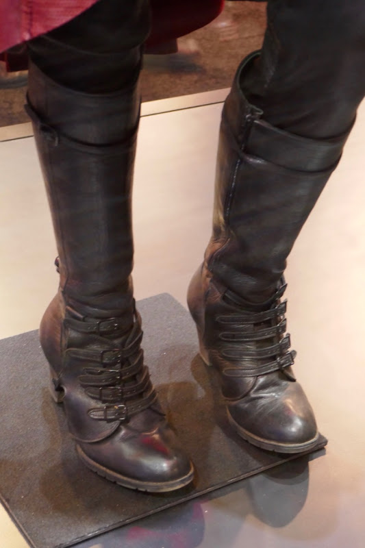 Scarlet Witch Avengers movie costume boots
