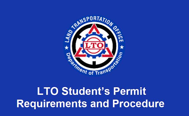 LTO Student's Permit Requirements