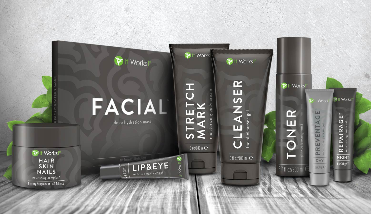 IT WORKS SKIN CARE SYSTEM