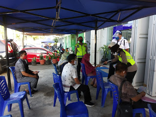 Hari Ke 12 Operasi Patuh, Satlantas Polres Jeneponto Fokus Edukasi Warga