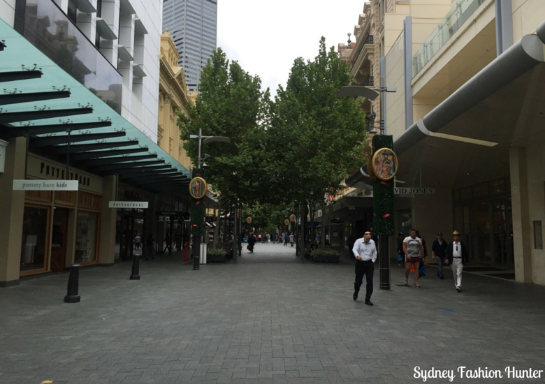 Sydney Fashion Hunter: Hay St Perth Pedestrian Shopping Mall