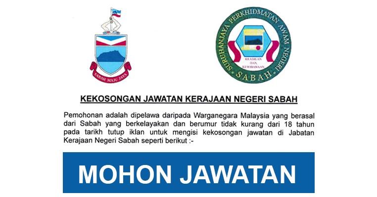 Jawatan Kosong Di Jabatan Perhutanan Sabah Jobcari Com Jawatan Kosong Terkini