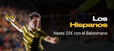 Hispanos gana hasta 25 euros Mundial de Balonmano 2021