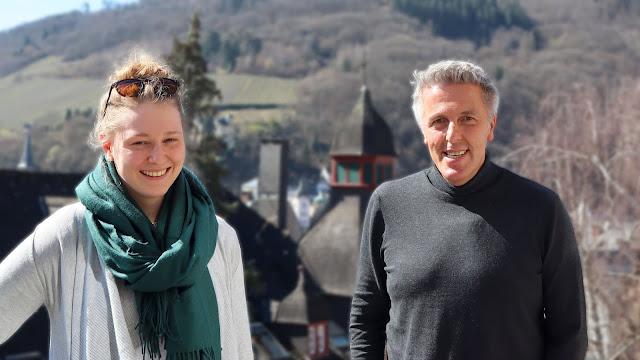 Laura Gerhardt und Alexander Tauscher