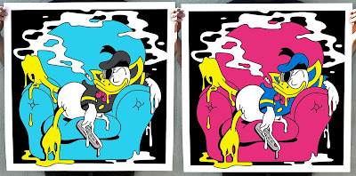 """Duck Two"" Deconstructed Donald Duck Print by Matt Gondek x Disney"