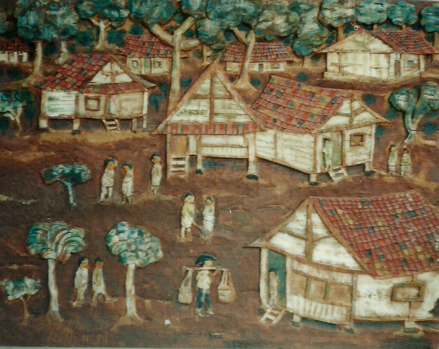 gambar pemandangan kampung - photo #47