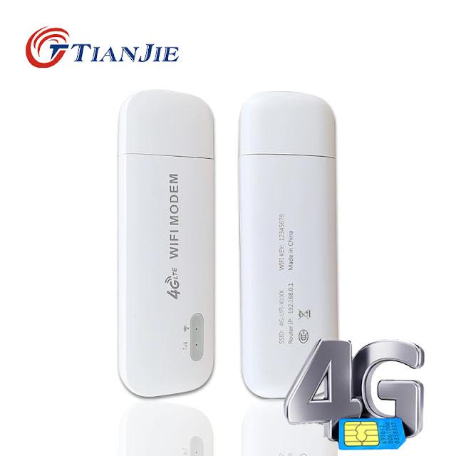 Mini 4g Wifi Router USB Modem Unlock LTE Router 4g Sim Card Mobile Car Network Stick Dongle Passby Unlimited Hotspot IMEI
