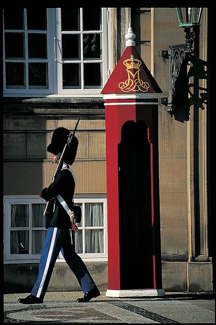 Palácio Amalienborg, Copenhagen, Dinamarca