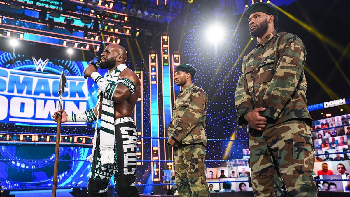 WWE acusada de racismo por novo personagem de Apollo Crews