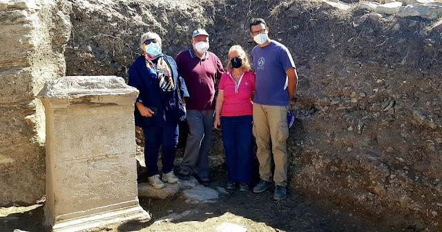 Segesta, Sicily: Monumental building from the ancient agora and the 'signature' of its benefactor discovered
