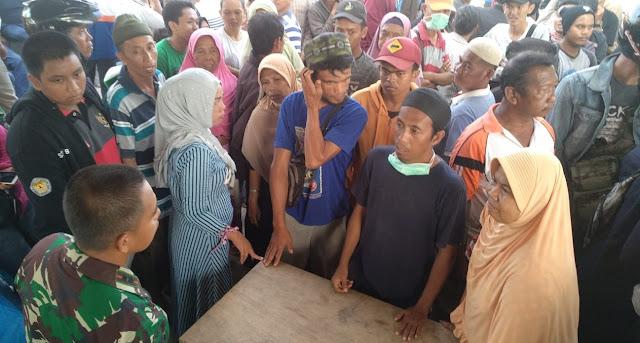 Danrem 141/Tp Akan Serahkan Langsung Makanan Siap Saji Pada Korban Bencana Gempa dan Tsunami Donggala - Palu