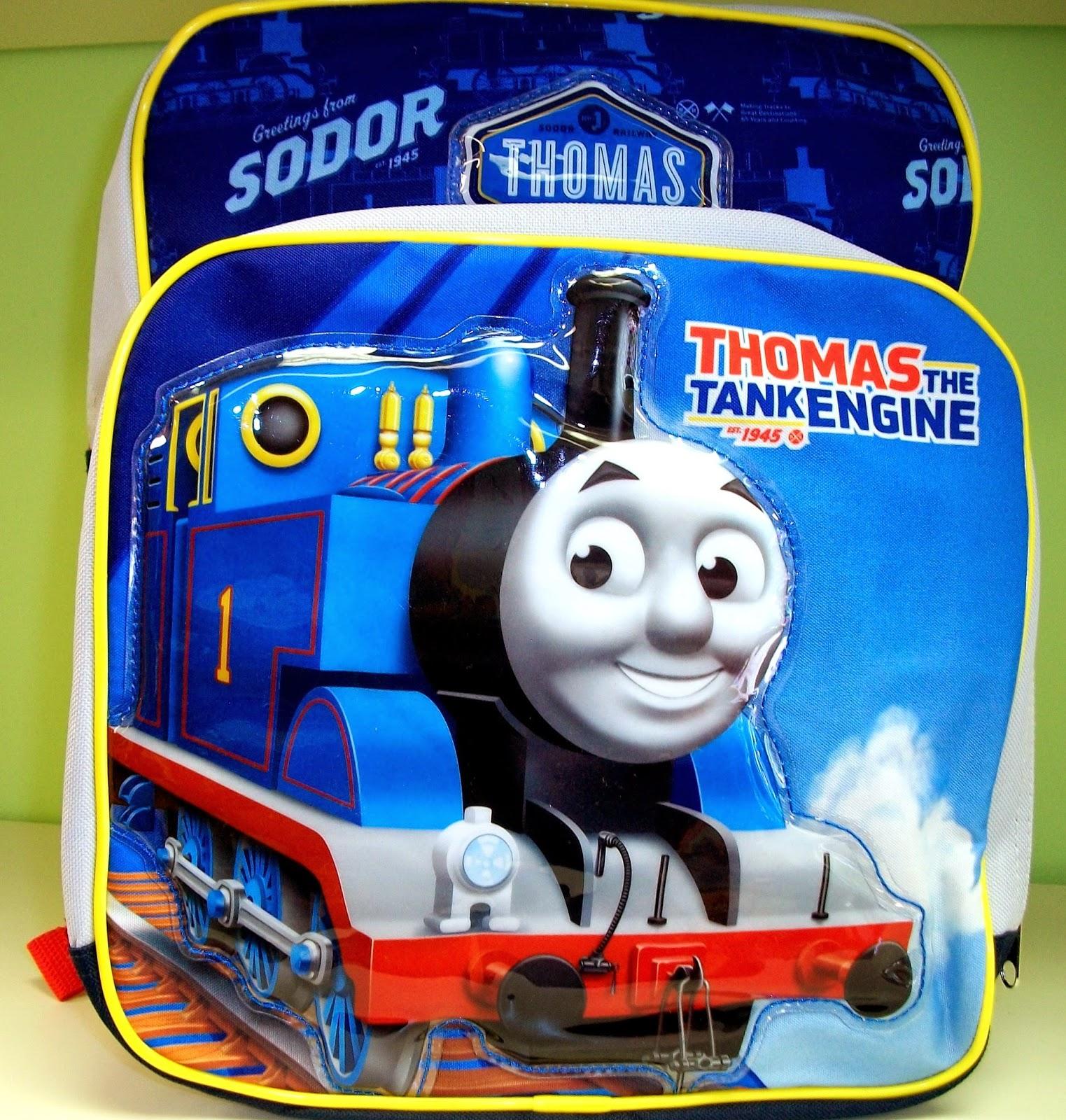 Gratis gambar tas ransel lucu thomas untuk anak