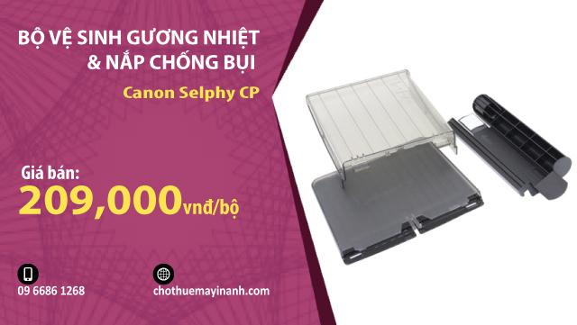 bộ vệ sinh gương nhiệt canon selphy