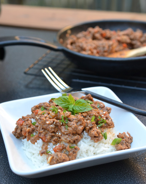 Thai Peanut Ground Beef