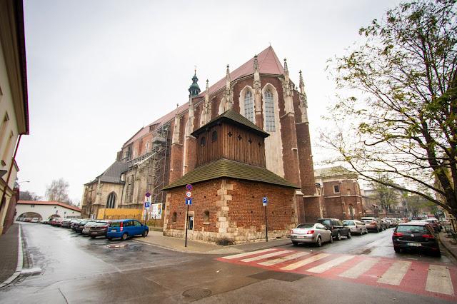 Chiesa di Santa Caterina-Quartiere Kaziemierz-Cracovia