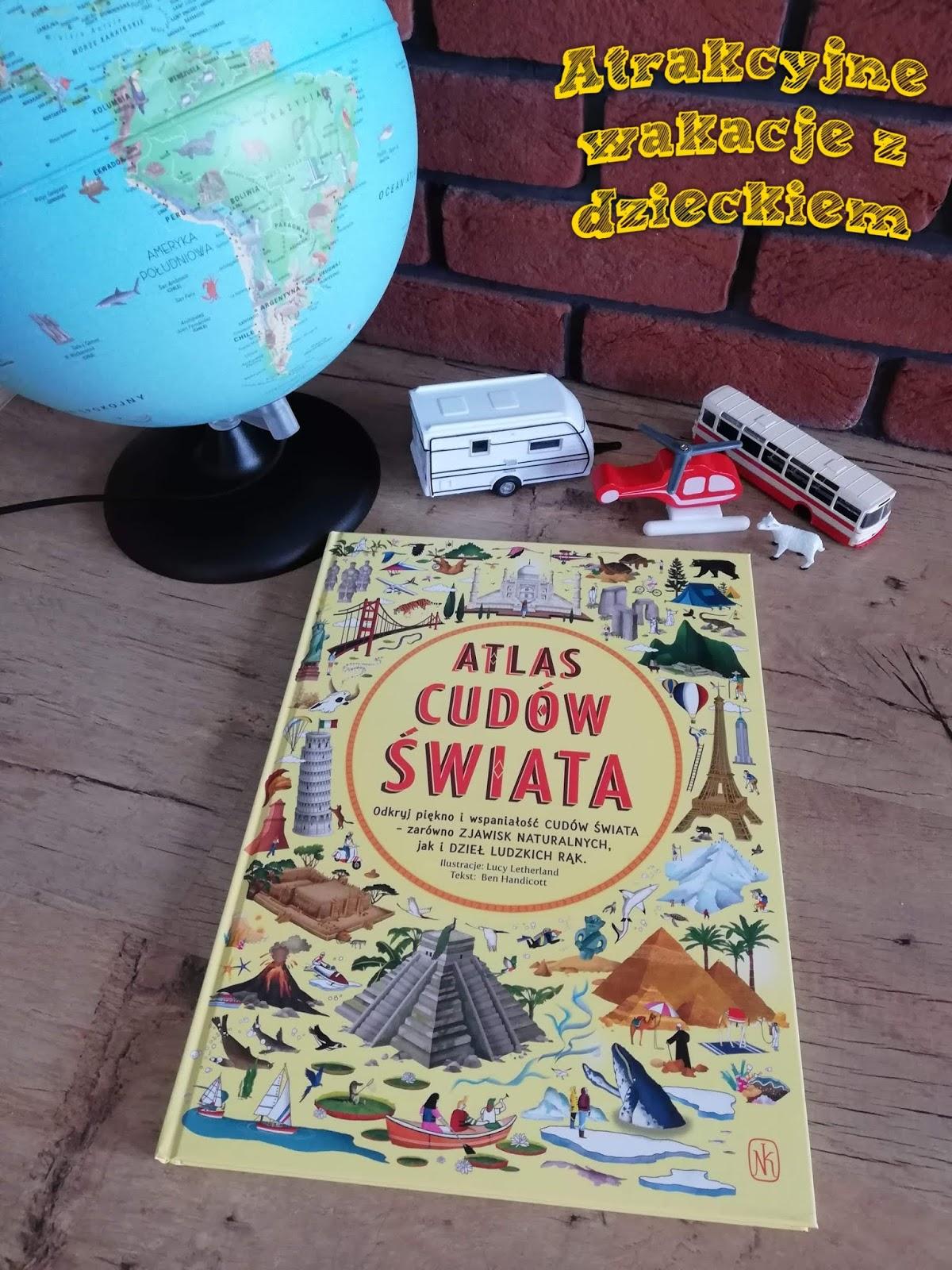 Recenzja książki atlas Cudów świata