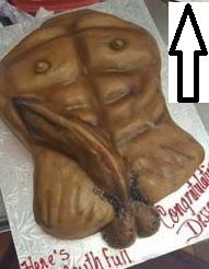 All Girls Bachelorette Party Cake