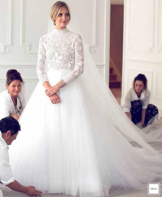 Chiara Ferragni vestido de noiva