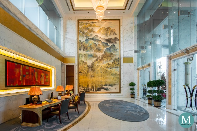 Lobby of The Valley Wing, Shangri-La Hotel Singapore