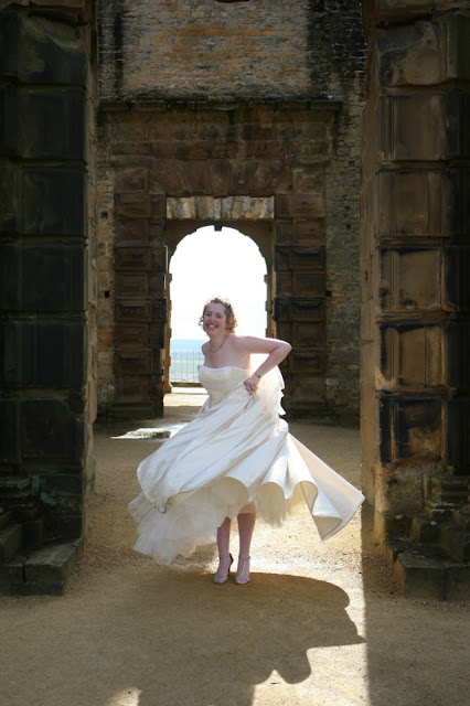 Morgan's Milieu | You are Beautiful: Morgan Prince, in her wedding dress.