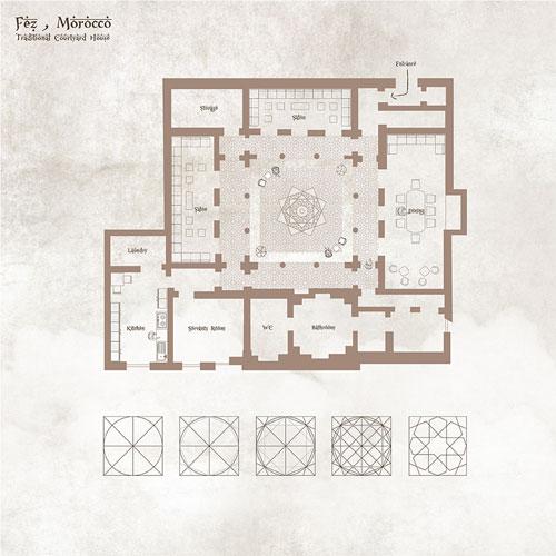 folkrooms natchaluck s vernacular architecture study fez morocco