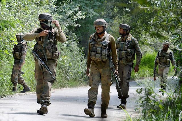 जम्मू-कश्मीर में अातंकी घटनाओं में कमी, गृह मंत्रालय का आंकड़ा