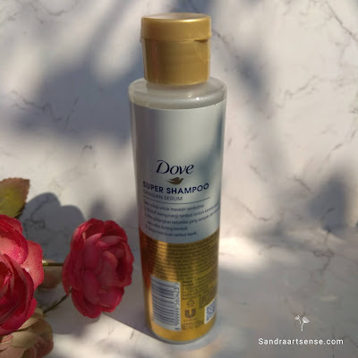 Review Dove 3 in 1 Super Shampoo