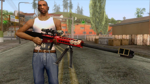 GTA San Andreas Barrett Royal Dragon V2 2021