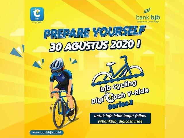 Ini Cara Mengikuti bjb Cycling DigiCash V-Ride Series 1 Tanggal 30 Agustus 2020