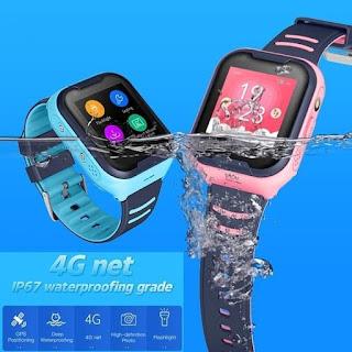 Smartwatch kids Jam Tangan Anak 4G Video Call Waterproof GPS Imoo A36E