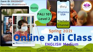 PALI 101 - Level 2 - English Medium