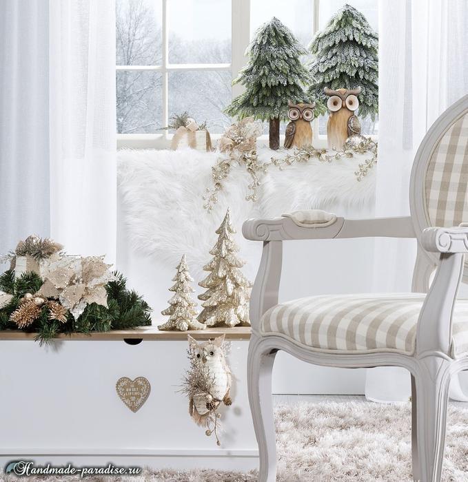 Рождественский дизайн интерьера. 20 фотографий (3)