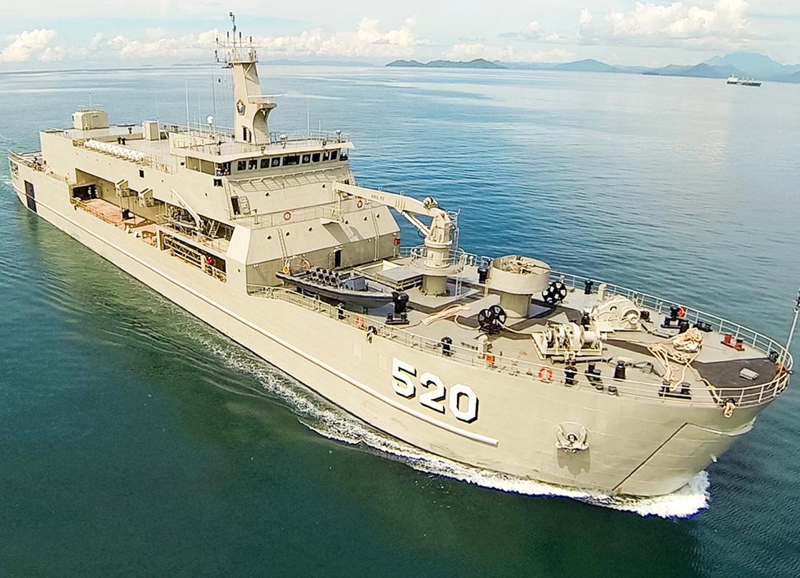 KRI Teluk Bintuni (Landing Ship Tank)