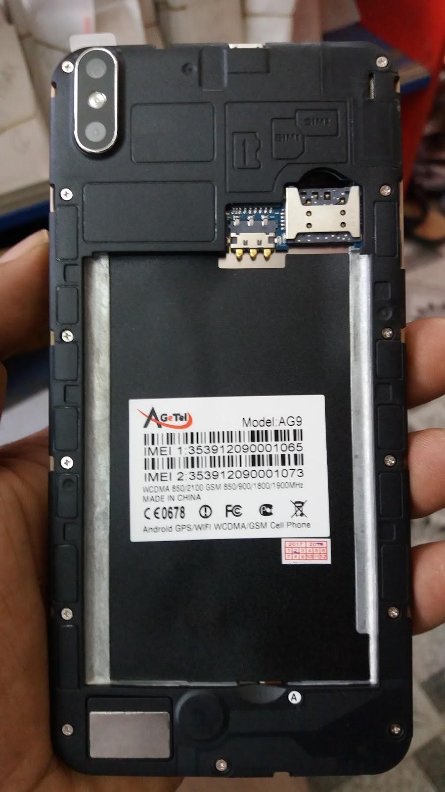 Agetel AG9 Flash File