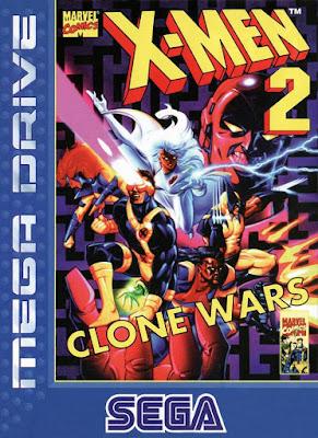 Rom de X-Men 2: Clone Wars - Mega Drive em PT-BR