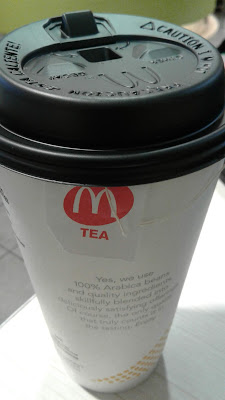 McDonald's Large Hot Tea