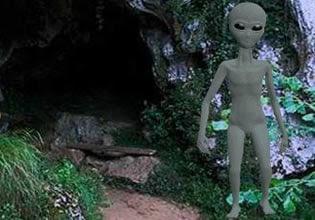 Alien Mysterious Forest Escape