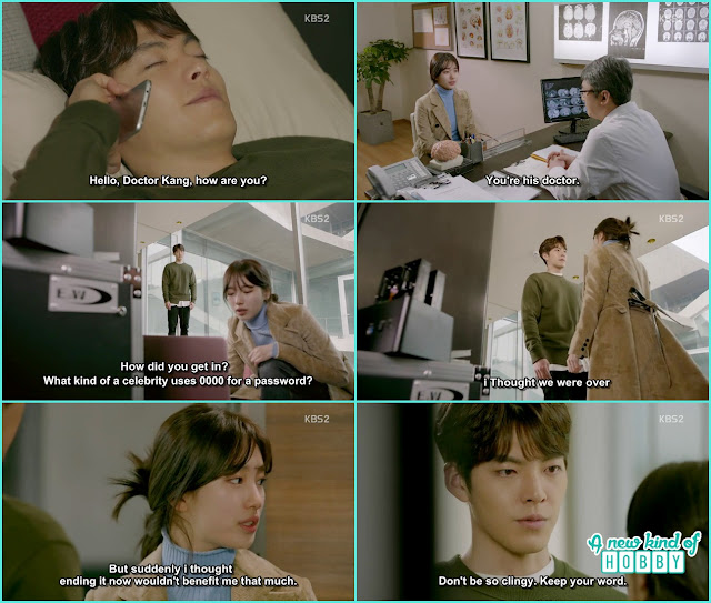 No Eul now know about Joon Young suffering and disease - Uncontrollably Fond - Episode 16 Review