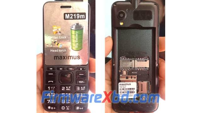 Maximus M219m Flash File
