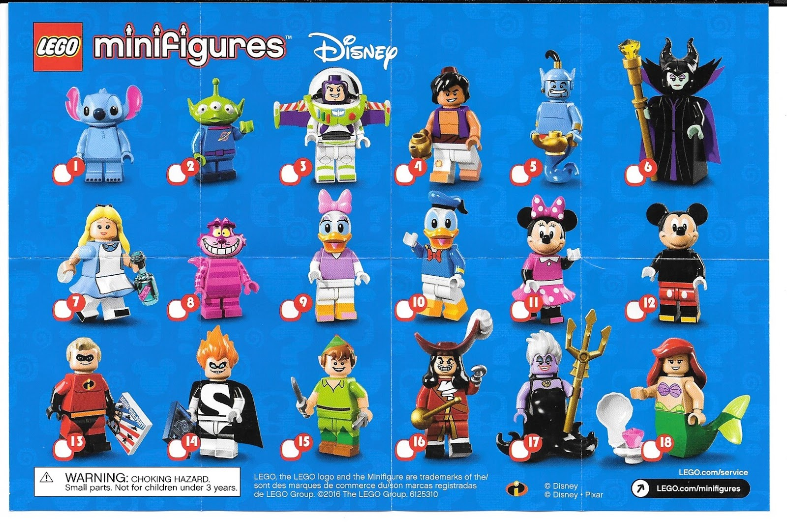 Disney Lego Minifigures Series 1 Stitch