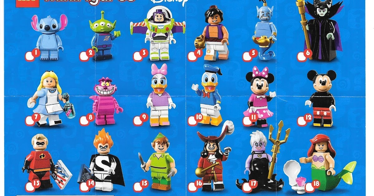 the minifigure collector lego minifigure series 1 15 lego movie simpson disney checklists. Black Bedroom Furniture Sets. Home Design Ideas