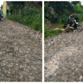 Ruas jalan cibodas-sinagar Perlu perhatian pemerintah kabupaten Sukabumi